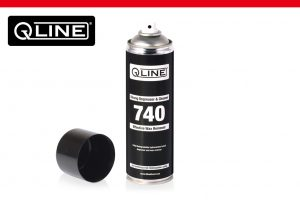 Qline 740 strong degreaser and cleaner aerosol transportation wax coating remover cars export import delivery